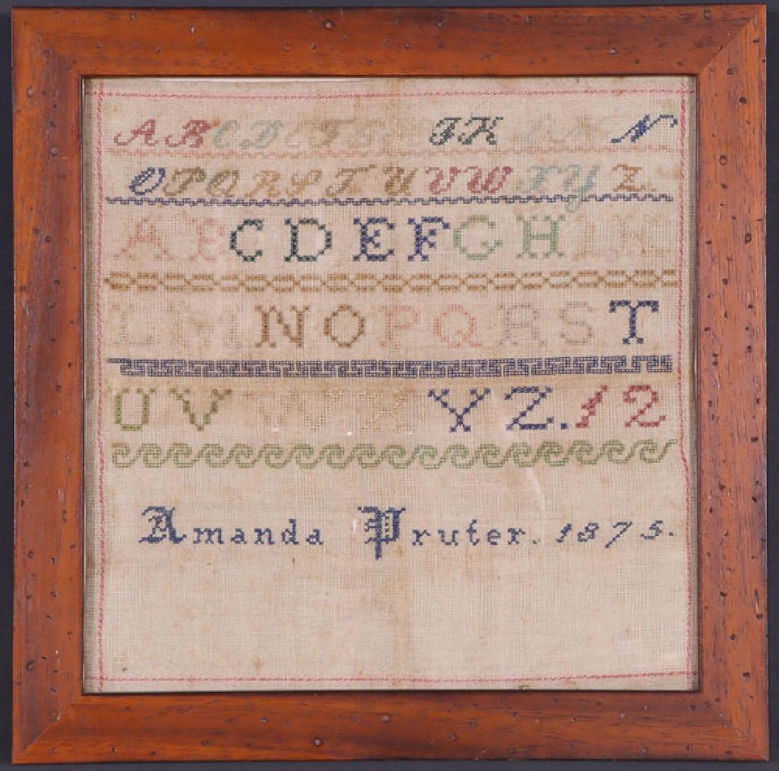A 19TH CENTURY TEXTILES GROUP - 3
