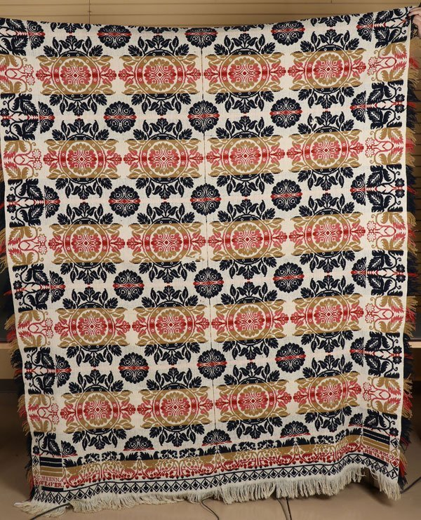 TWO 19TH CENTURY COVERLETS - 2