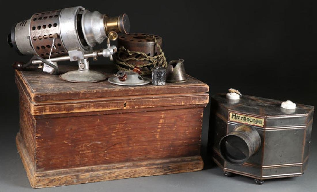 AN EARLY VICTOR ANIMATOGRAPH PROJECTOR