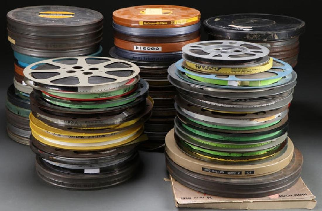 A COLLECTION OF 71 16 MM FILMS, MOSTLY MID 20TH C