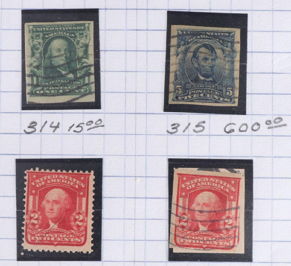 A GOOD COLLECTION OF EARLY US POSTAGE STAMPS - 4