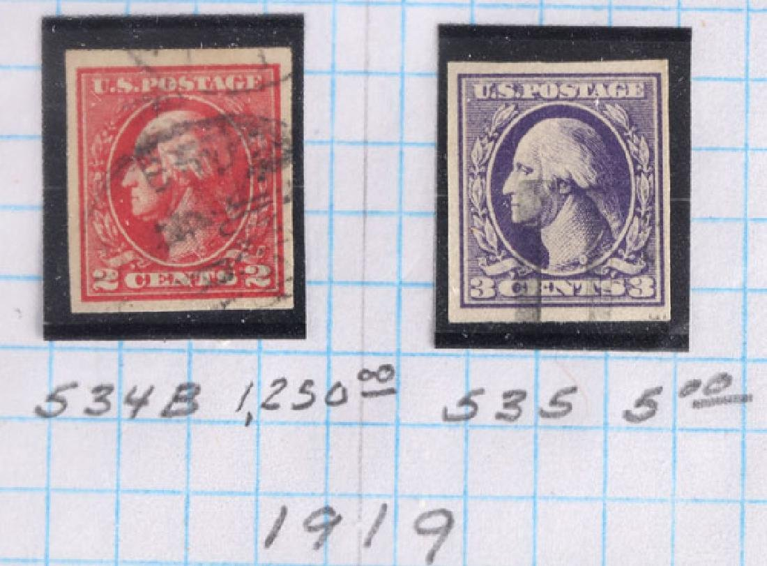 A GOOD COLLECTION OF EARLY US POSTAGE STAMPS - 8
