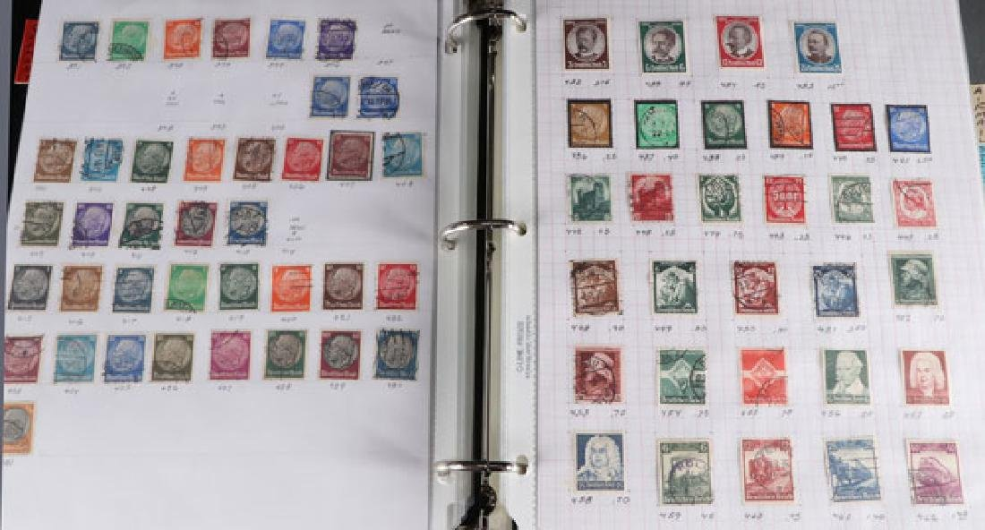 A LARGE HOARD OF FOREIGN STAMPS - 4