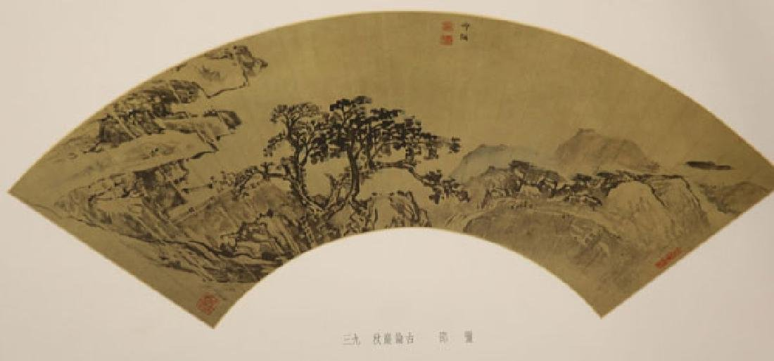 A CHINESE UNBOUND BOOK OF FANS - 4