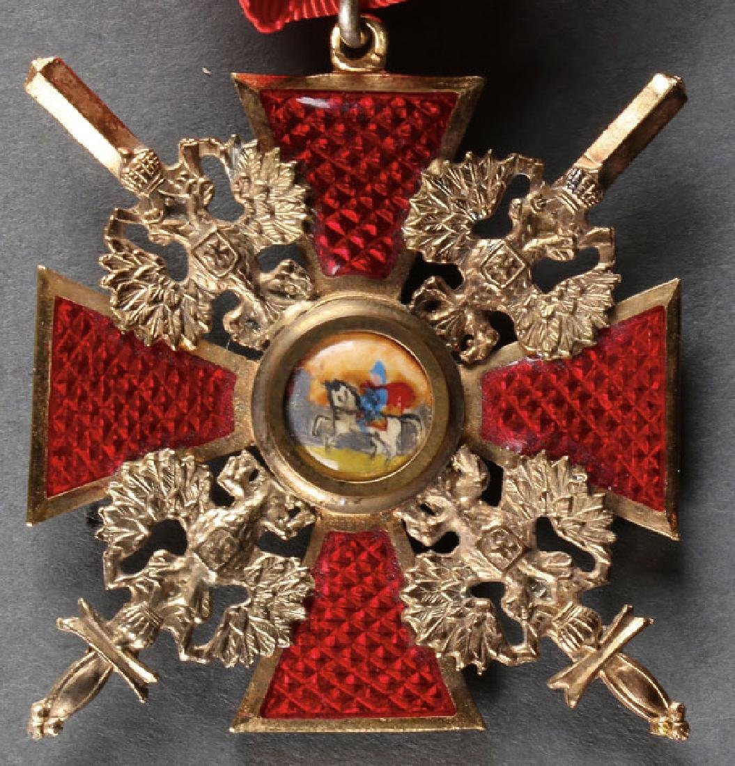 AN IMPERIAL RUSSIAN STYLE ORDER OF ST. ALEXANDER - 3