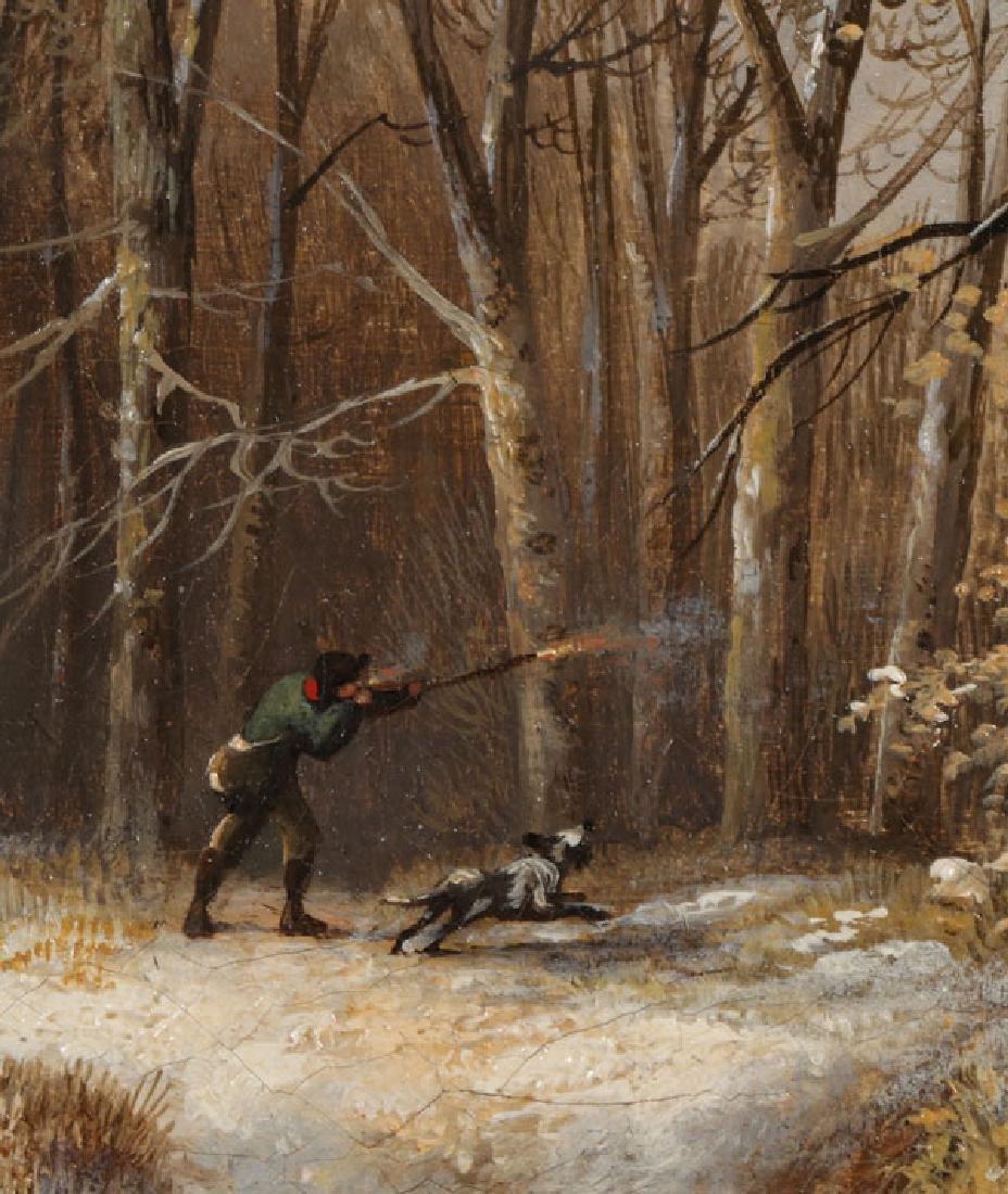 DUTCH WINTER LANDSCAPE, JAN JACOB SPOHLER (1811-1866) - 5
