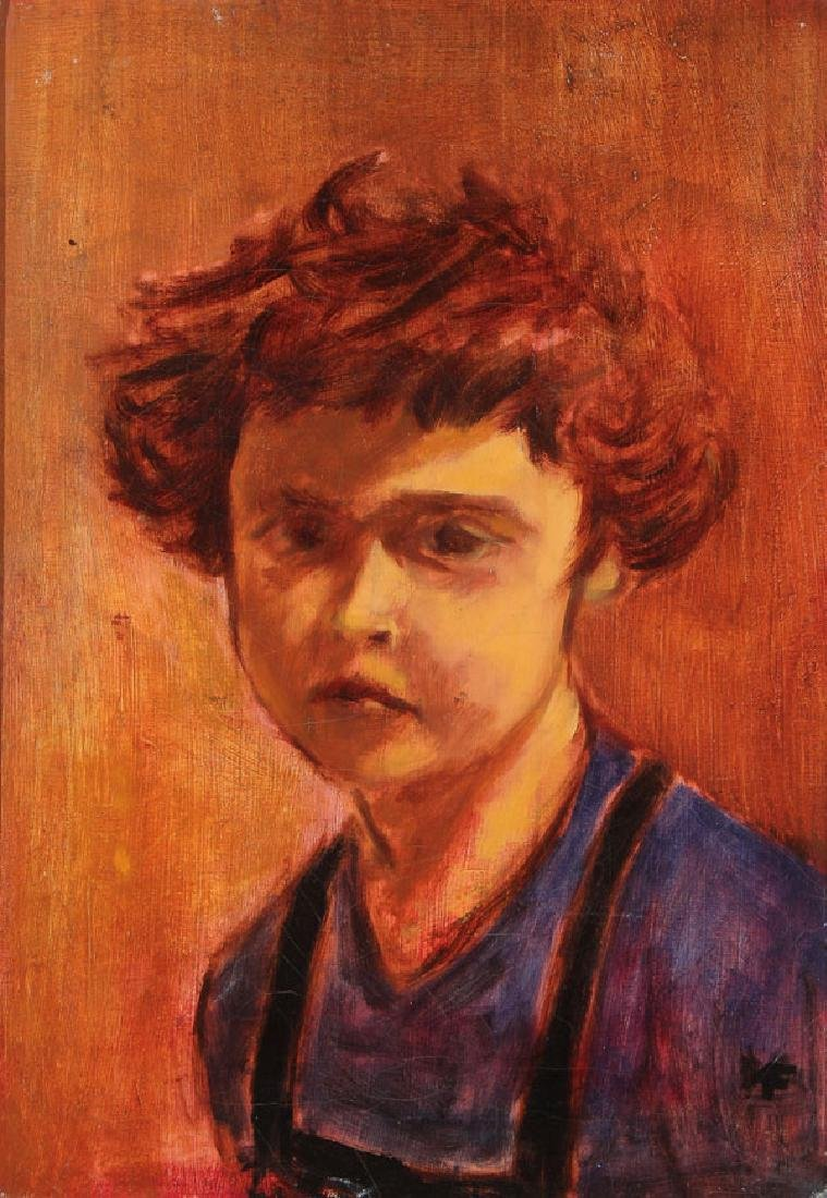 4 SWEDISH OIL PAINTINGS MOLLIE FAUSTMAN (1883-1966) - 4