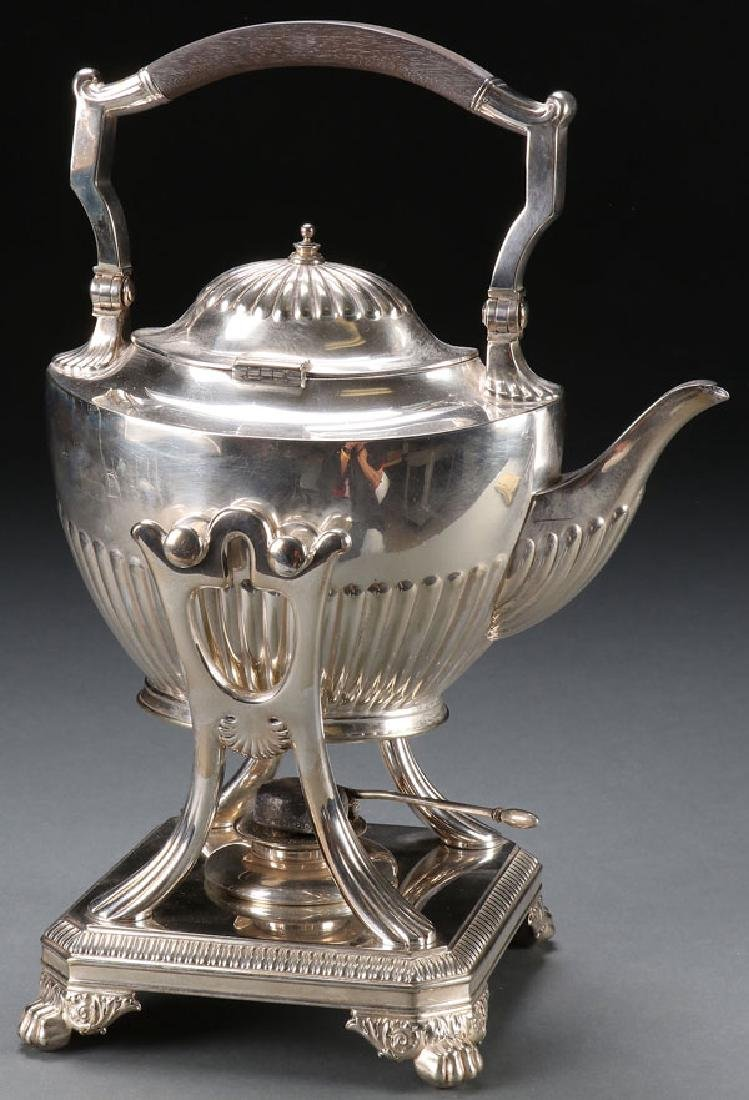TIFFANY SILVERPLATE HOT WATER KETTLE