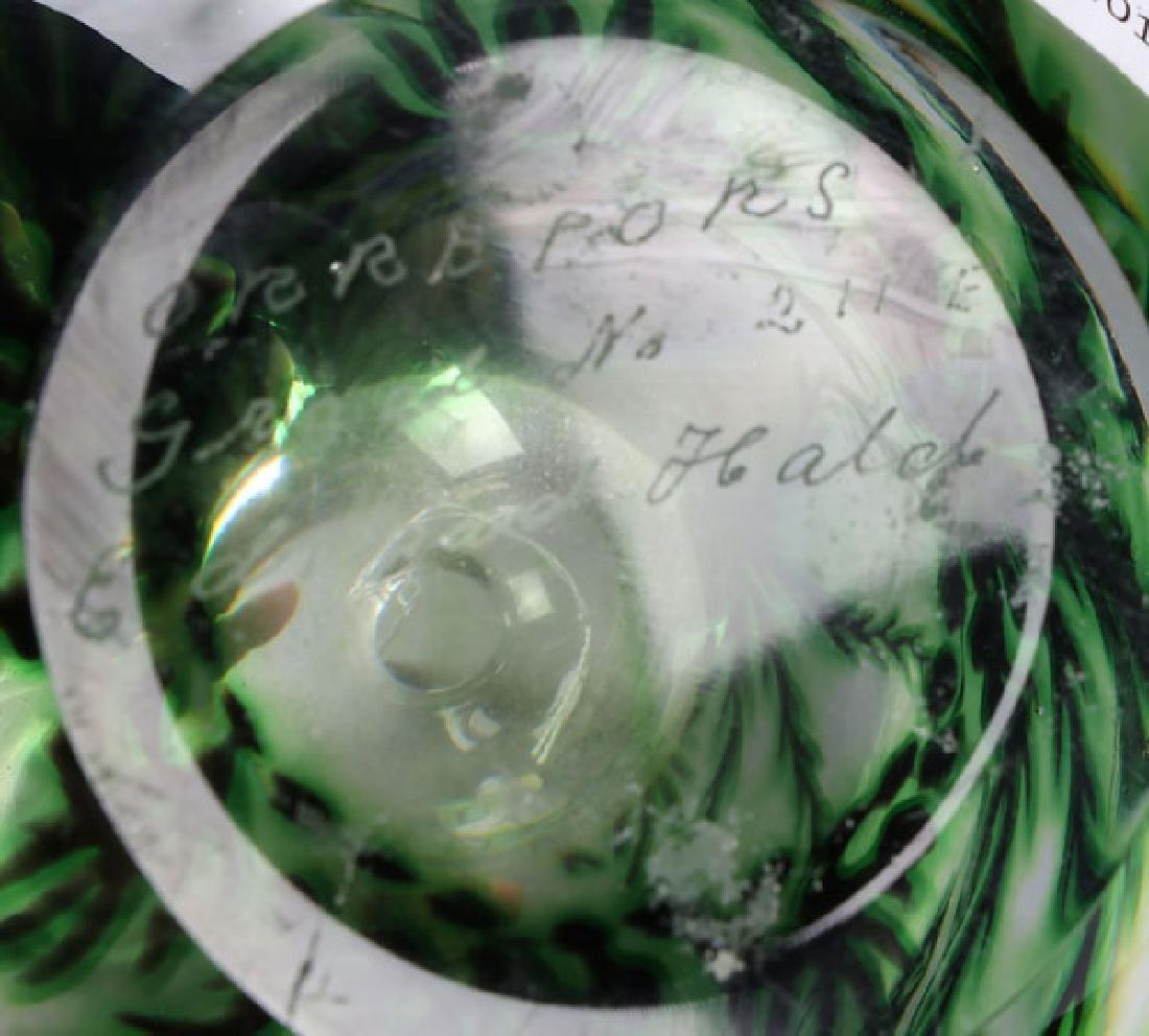 EDVARD HALD ORREFORS ART GLASS VASE - 2
