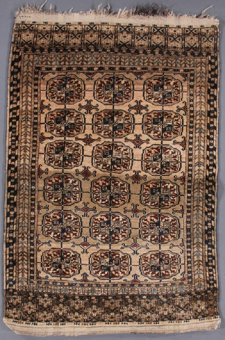 CONTEMPORARY TURKOMAN TEKKE PATTERN ORIENTAL RUG