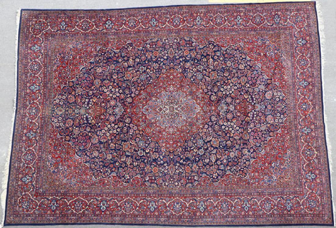 PERSIAN ROOM SIZED ORIENTAL RUG, MID 20TH CENTURY
