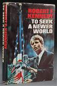ROBERT F. KENNEDY AUTOGRAPHED BOOK