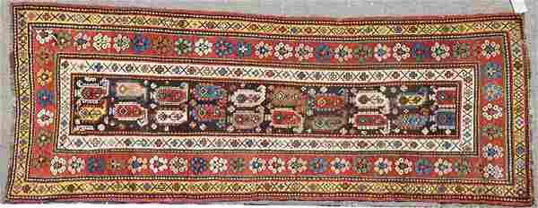 SOUTHWEST CAUCASUS KAZAK HAND WOVEN ORIENTAL RUG