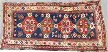 CAUCASIAN KAZAK HAND WOVEN ORIENTAL RUG
