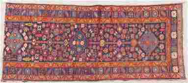 FOUR TURKISH AND CAUCASIAN ORIENTAL RUGS