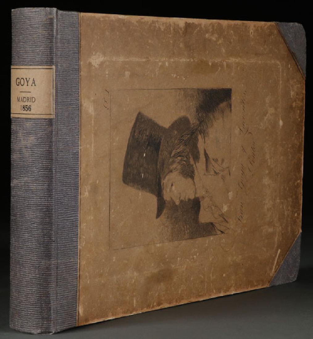 CAPRICHOS:  FRANCISCO DE GOYA (1856)