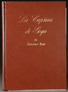 LES CAPRICES DE GOYA: SALVADOR DALI, 1977