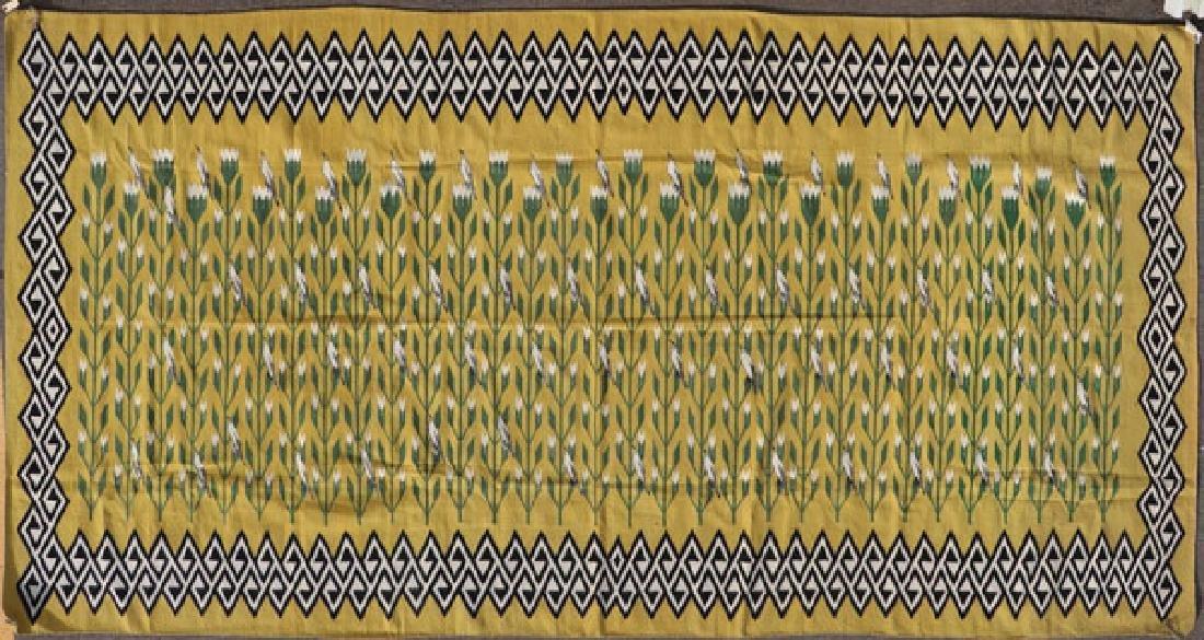 A ROOM SIZE NAVAJO RUG, 2ND HALF OF 20TH CENTURY