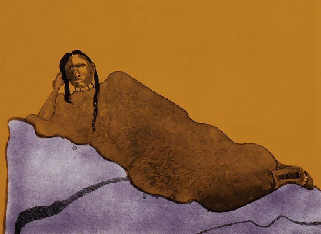 FRITZ SCHOLDER(Native American 1937-2005)