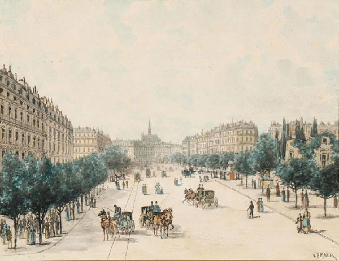 VINCENT (VINCENZO) BLATTER(Italian 1843-1913)