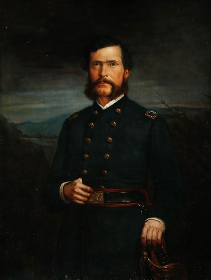 PORTRAIT OF UNION GENERAL J,G, PARKE C, 1880