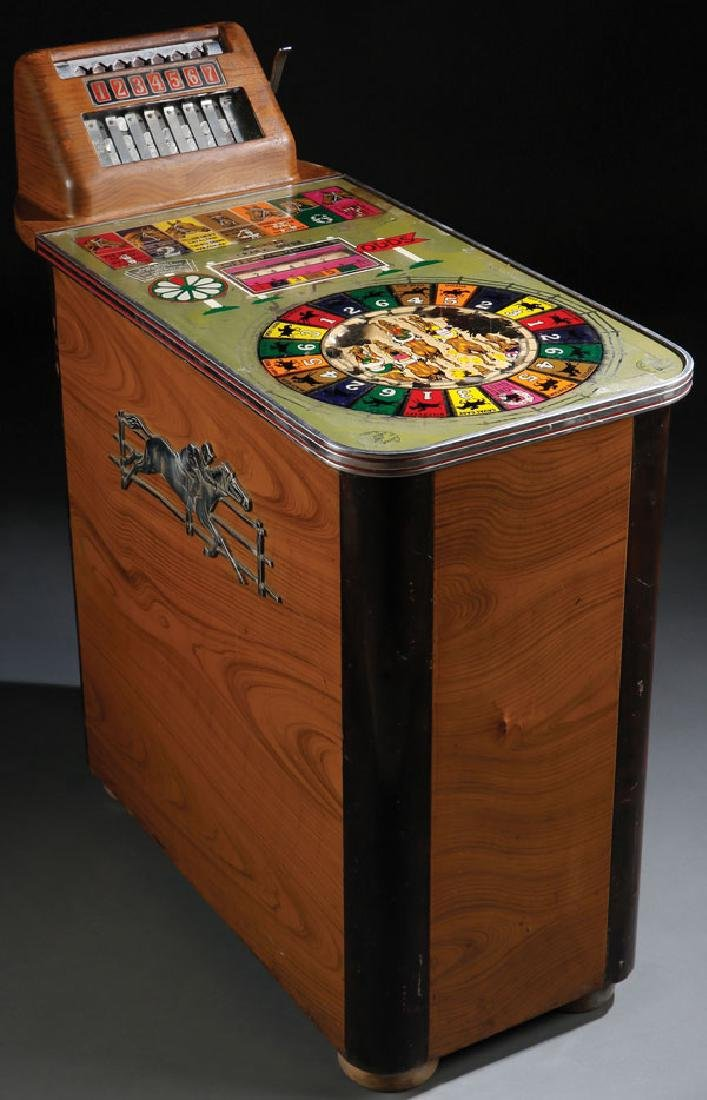 A BUCKLEY TRACK ODDS HORSE RACE SLOT MACHINE
