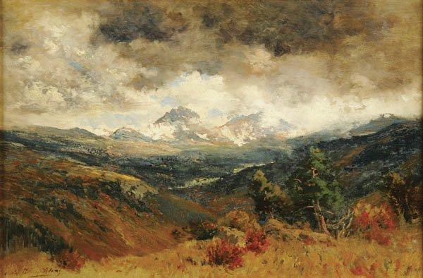 3: CHARLES PARTRIDGE ADAMS (American 1858-1942) Expa
