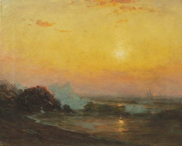 7: GEORGE F. SCHULTZ (American 1869-1934) Sailing Al