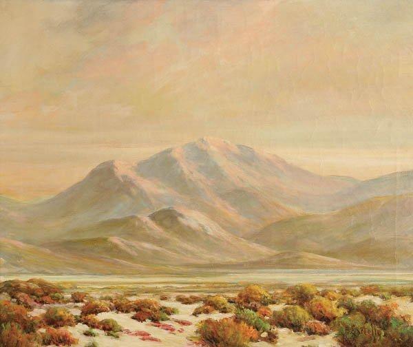 11: HERBERT SARTELLE  (American 1885-1955) Desert Mou