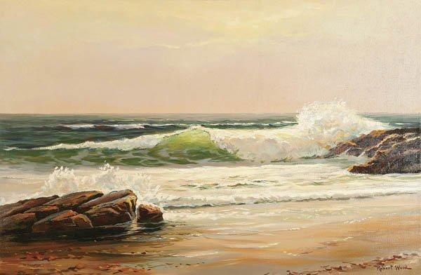 12: ROBERT WOOD  (American 1889-1979) Ocean Spray Oil