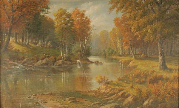 14: W.A. CARSON (American 19th/20th century) Indian E