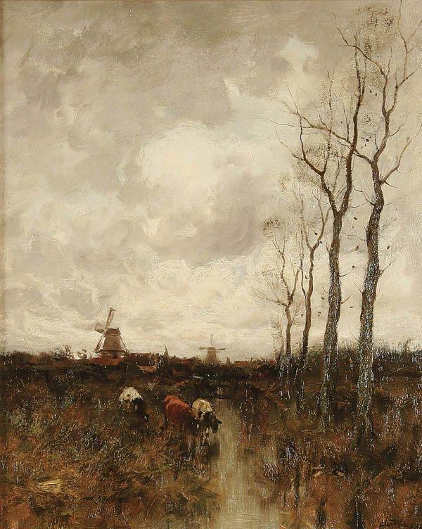 16: CHARLES PAUL GRUPPE (American 1860-1940)  Landsca