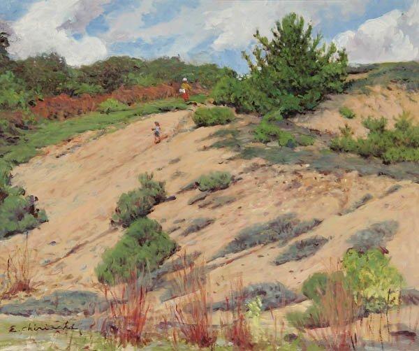 21: ERNEST CHIRIACKA (American b.1920-) Montauk Dunes
