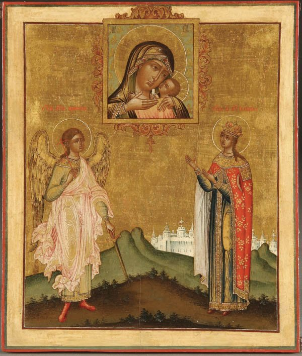 212: AN EXCEPTIONAL RUSSIAN ICON: The Korsun Mother of
