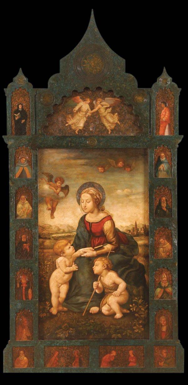 296: After RAPHAEL (Italian 1482-1520) La Belle Jardin