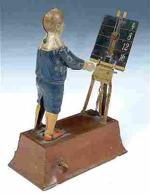 """A RARE TIP & COMPANY TIN WIND UP TOY, """"The Little"""