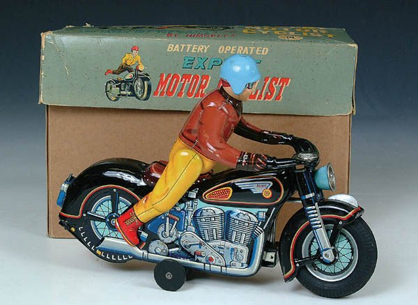 511: A FINE BATTERY OPERATED MOTORCYCLE by Modern toys