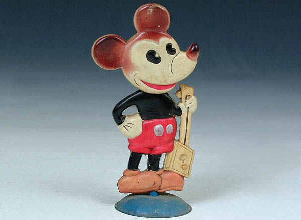 519: A FINE MICKEY MOUSE CELLULOID figure. Made in Jap