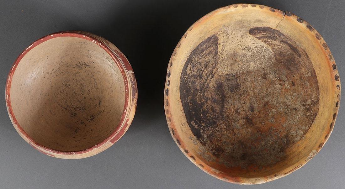 A PAIR OF HOPI POLYCHROME BOWLS, CIRCA 1900 - 2