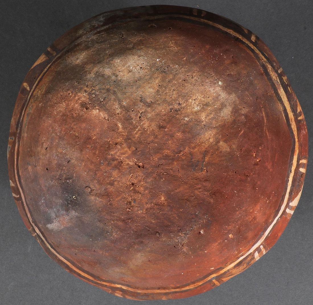 A HOPI HONO POLYCHROME VESSEL, CIRCA 1900 - 2