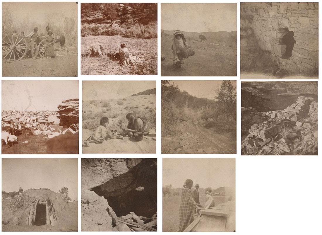 11 EARLY ARIZONA TERRITORY PHOTOS, C. 1900
