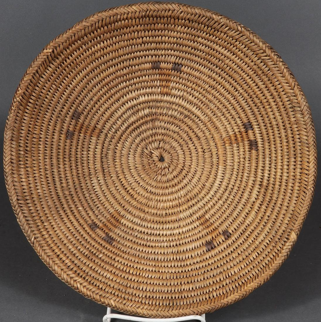 A PAIR OF SOUTHWEST WOVEN BASKETS, CIRCA 1900 - 4