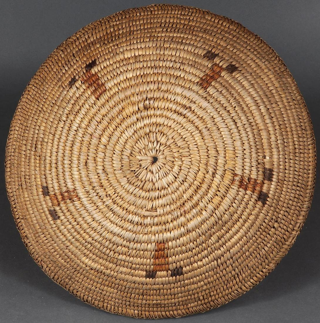 A PAIR OF SOUTHWEST WOVEN BASKETS, CIRCA 1900 - 5