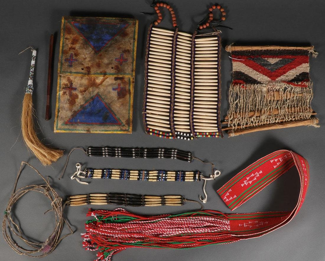 10 NATIVE AMERICAN OR NATIVE AMERICAN STYLE ITEMS