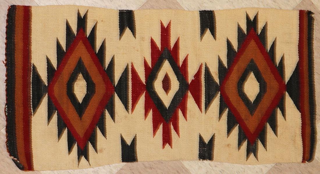 SIX NAVAJO RUGS, CIRCA 1920-1940 - 4