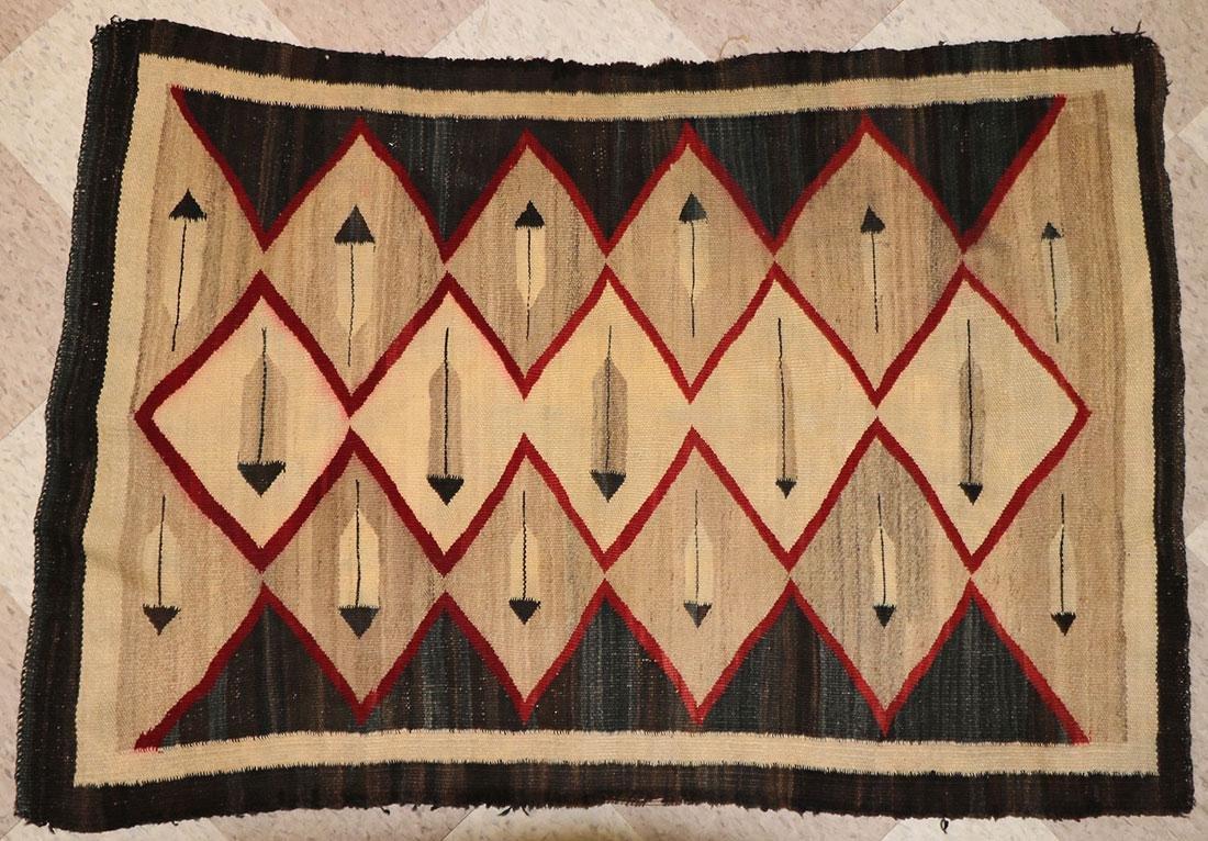 SIX NAVAJO RUGS, CIRCA 1920-1940 - 5