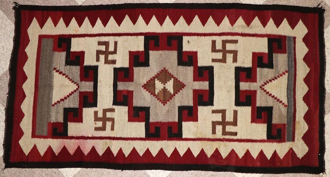 SIX NAVAJO RUGS, CIRCA 1920-1940 - 6