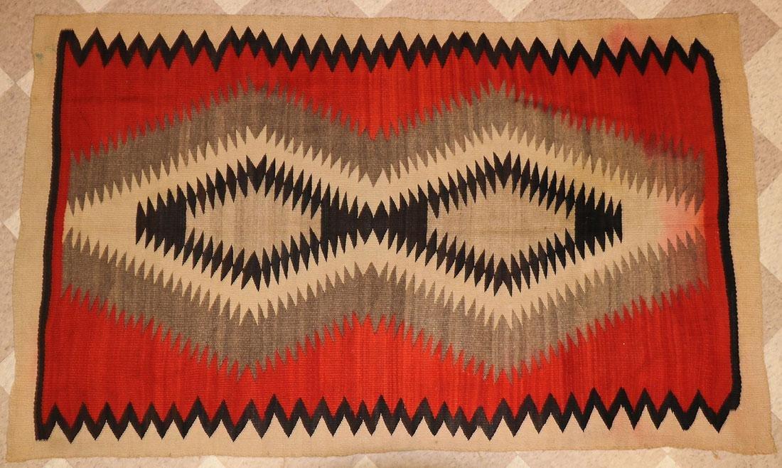SIX NAVAJO RUGS, CIRCA 1920-1940 - 7