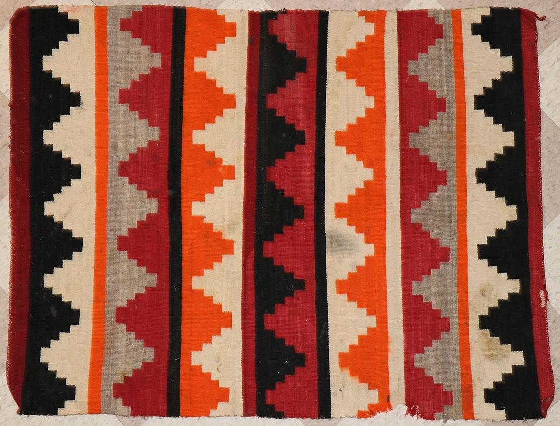 SIX NAVAJO RUGS, CIRCA 1920-1940 - 8