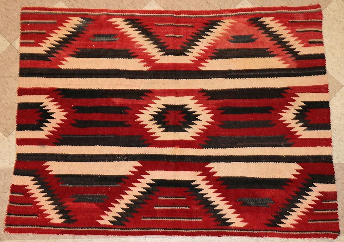 SIX NAVAJO RUGS, CIRCA 1920-1940 - 9